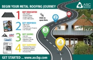 Metal Roofing Journey by ASC Building Products