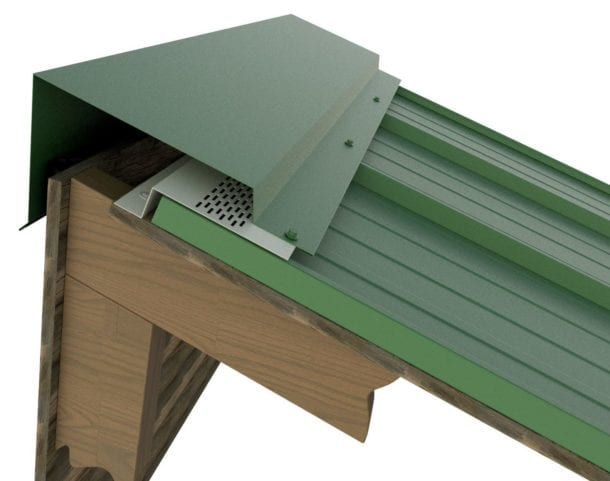 Vented Peak Flashing by ASC Building Products