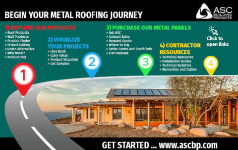 ASC BP Contractor Center | Begin Your Metal Roofing Journey