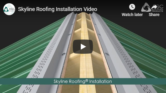 Skyline Roofing Installation Video